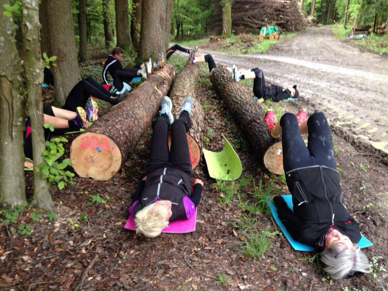 Forest Fitness Gruppentraining